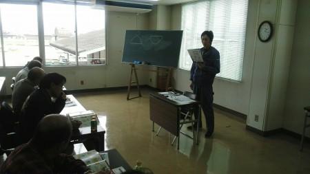 講師は営農支援ふれあい係(TAC)の池田光孝