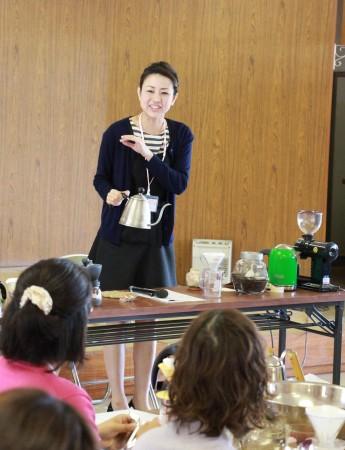 講師は、フレッシュ・ミズの受講生でもある舞鶴市Metel Cafe の木下 恵さん。