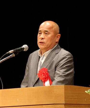 来賓の中川JAグループ会長