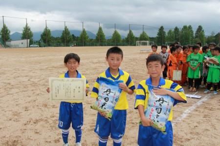 3位福知山サッカースポーツ少年団