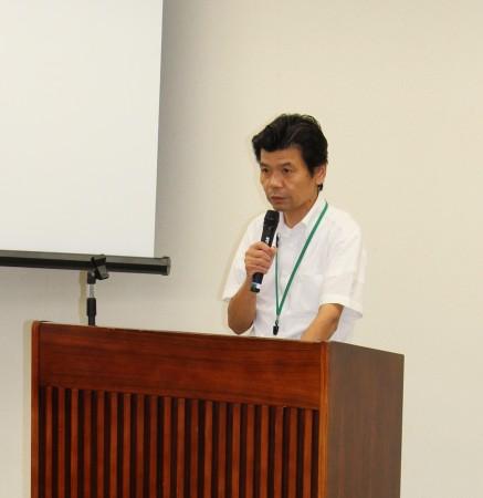 企画管理部福井部長からは「支店活性化委員会の取り組みについて」