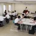 コア人材修了生13人、次代塾修了生11人が参加。