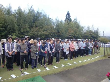 各支部・グループから123名が参加されました(^^♪