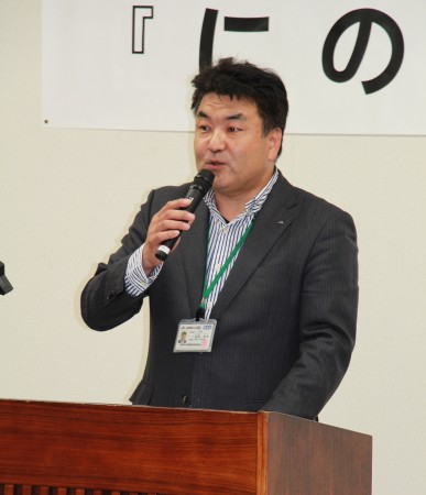 長澤資金共済部長(^_^)
