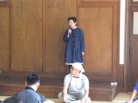 福知山運営協議会の高橋会長のあいさつではじまりました。