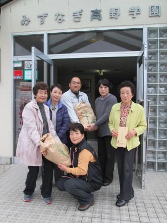 32Kgのお米をお届けしました(^^)v