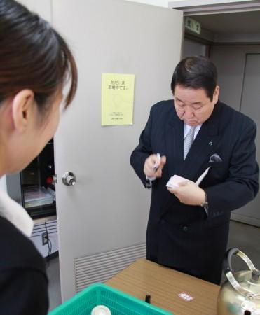 快くサインに応じてくれた田渕さん!優しい~!(^^)!
