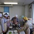 講師は、料理サークルの坂本裕美子先生、アシスタントに、料理サークルの皆さんにお世話になりました(^^)v