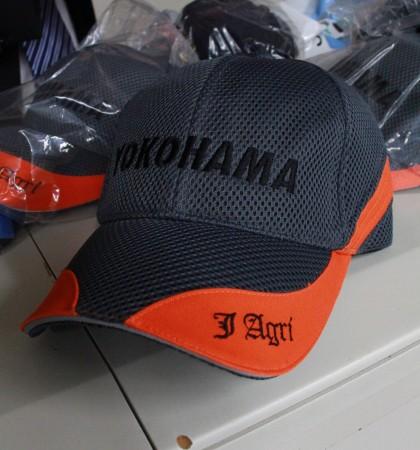お土産にJA横浜の帽子をいただきました(^○^) さすが横浜・・何かカッコイイ・・(>_<)
