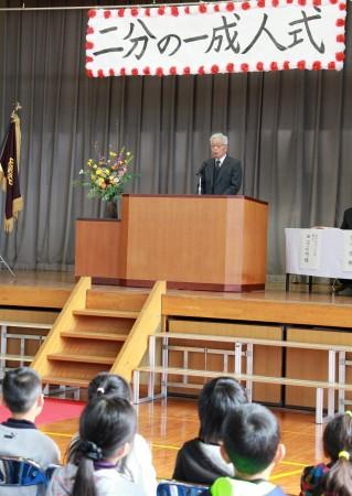 地元の下豊富営農組合、佐竹守組合長が祝辞を述べられました(^o^)