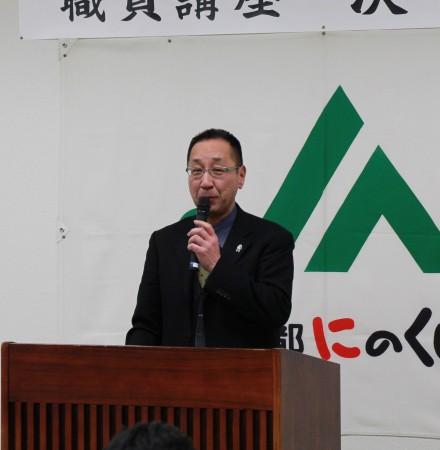 特別審査員のJA京都中央会 森島教育研修課長から講評をいただきました(^_^)