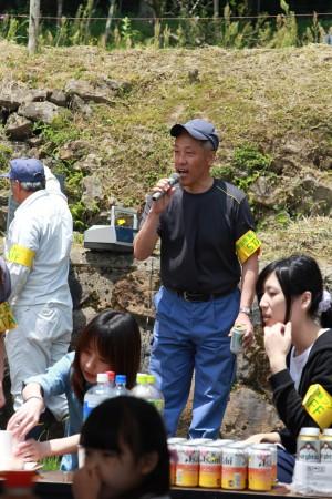 大江支店永野支店長の乾杯の発声でスタート!(^_^)/ (もちろん職員はノンアルコールです)(^_^;)