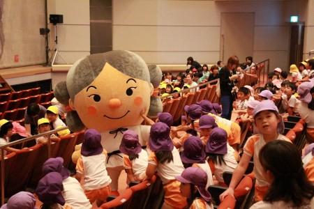 当JAキャラクター夢彦君は両会場とも大人気でした(^_^)
