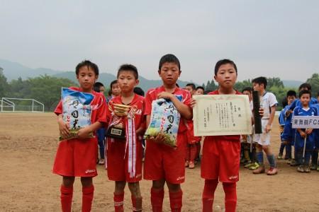 準優勝は舞鶴南フットボールクラブ!舞鶴同士の決勝戦でした!