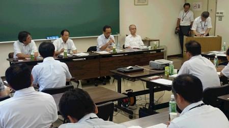 龍谷大学石田教授、実践報告されたJAグリーン近江の部長、支店長と共に相互討議もありました(^o^)