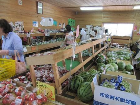 夏野菜が沢山販売されていますよ♪
