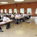 府北部JAの支店長および本店各部署の課長級以上61人が参加されました(^o^)