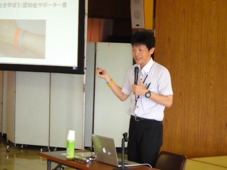 講師:綾部市社会福祉協議会 山下宣和氏