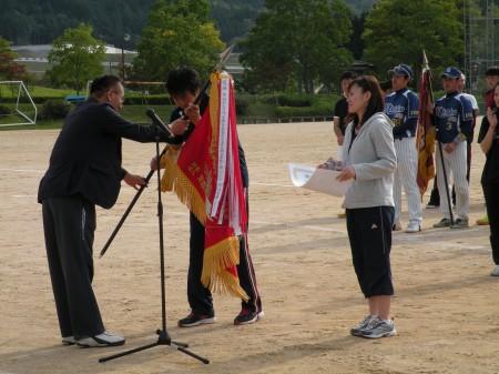 バレーボールは3年ぶりに優勝旗を奪還しました!(^_^)/