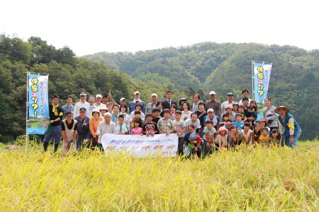 毛原の棚田は日本棚田百選にも選ばれています(^_^)