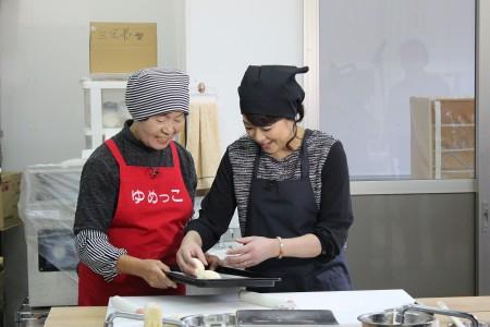 堀ちえみさんと一緒に米粉パン作り(^^)