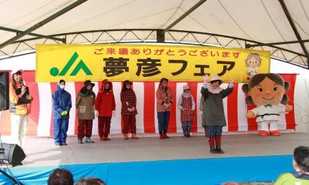 女性部による農作業義ファッションショー!今は農作業も女子力アップの時代!(^^)!