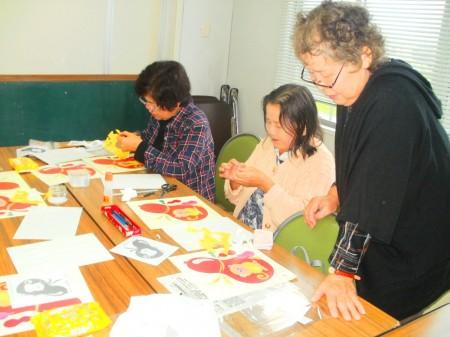 上柿三千代先生にご指導いただきました。