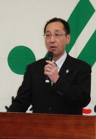 特別審査員のJA京都中央会教育研修課森島課長。全体講評をいただきました(^o^)