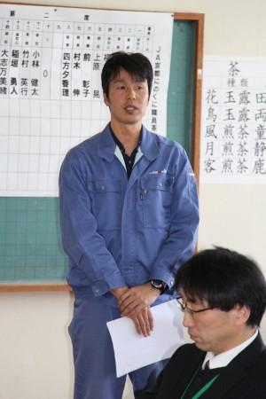 TACの澤田主任からお茶の基礎知識を学びました(^○^)