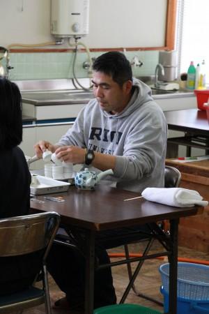お茶の生産者、橋本登美雄さんにもご協力いただきました!