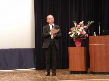 JC総研特別研究員 山本雅之氏の講演 「直売所の現状と直売所が地域で果たす役割」