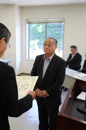 京都丹の国農業協同組合長賞に輝いた、吉野耕司さん