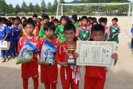 惜しくも敗れた舞鶴南フットボールクラブ(^^) 準優勝おめでとう!