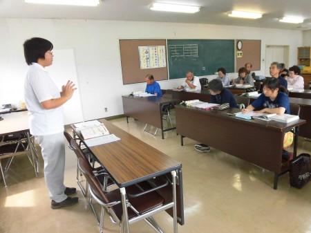 土作りの講習は、TAC越後担当から土作りの大切さを学びました^_^