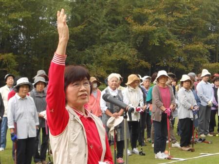 第16回 JA女性部親睦グラウンドゴルフ大会開催!