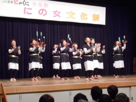 舞鶴ブロックお手玉の会「山寺の和尚さん」をヨーヨーお手玉で