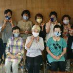 マスク作りをしました(^^)